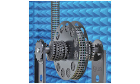 Cable reel for energy chains